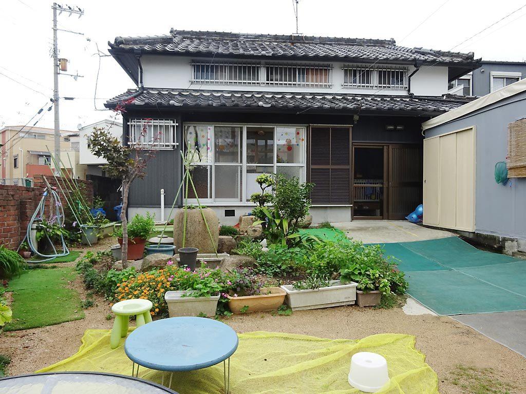 神戸市小規模保育所 虹っこひろば 外観